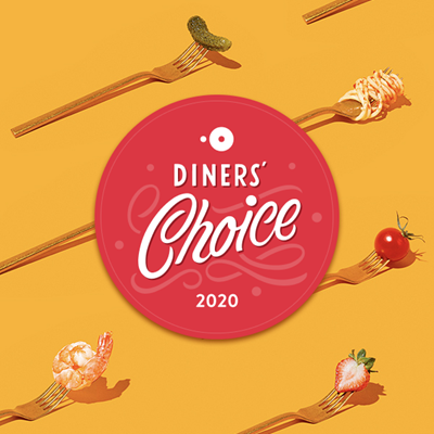 2020 OpenTable Diners Choice Award